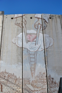Grafitti on Bethlehem Separation wall
