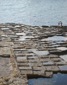 Saltpans in Gozo