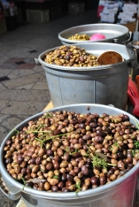 Olives in Nazareth market