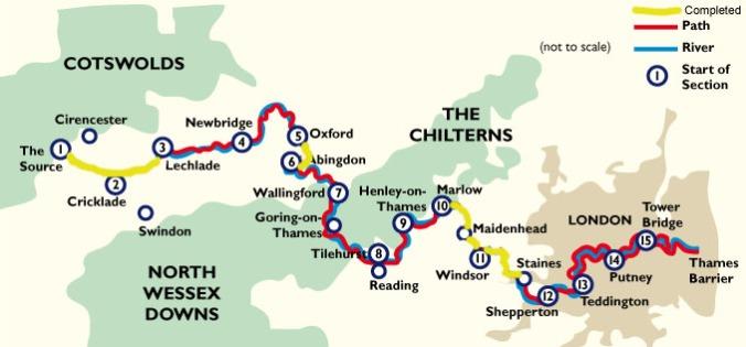 Thames Path Challenge | heathermaystanley